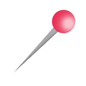 špendlík menší kulička
