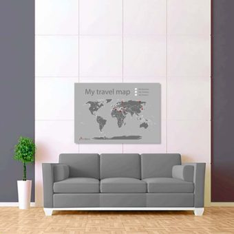 světle šedá mapa světa 2