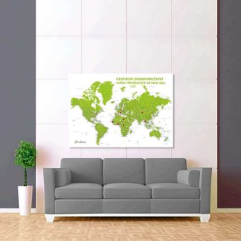 bílo zelená mapa 2