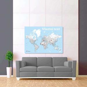 modro bílá mapa svět 2