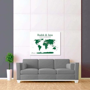 bílo tmavě zelená mapa 2