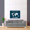modro bílá mapa světa 2