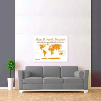 bílo oranžová mapa 2