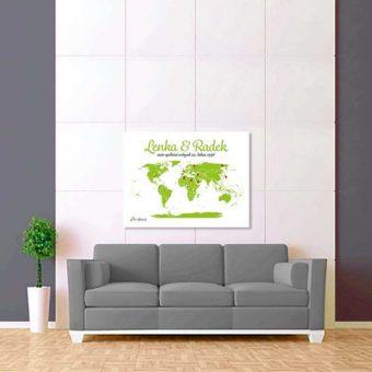 bílo světle zelená mapa 2