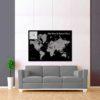 černo šedá mapa world sport tour 2