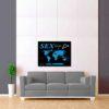 černo modrá mapa světa sex trip 2
