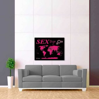 černo fialová mapa světa sex trip 2
