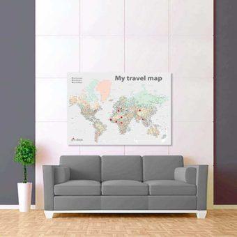 barevně šedá mapa světa rozšířená 2