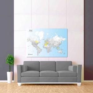 modro bílá vybarvovací mapa světa 2