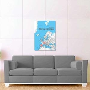 světle modrá mapa evropy 2