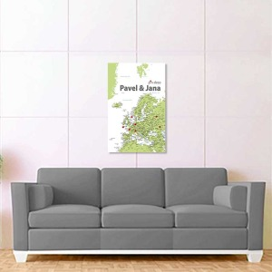 zeleno bílá mapa evropy 2