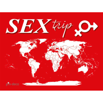 červeno bílá mapa světa sex trip