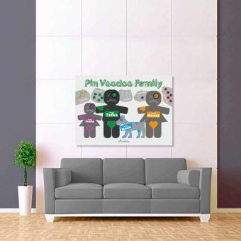 tmavě zelená voodoo rodina 2