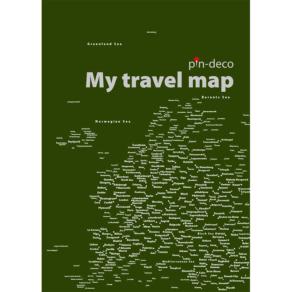 tmavě zelená mapa evropy