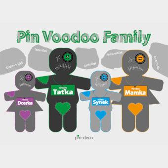 tmavá zelená voodoo rodina