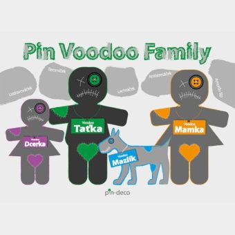 tmavě zelená voodoo rodina
