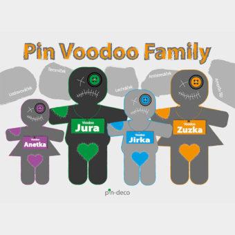 oranžová voodoo rodina