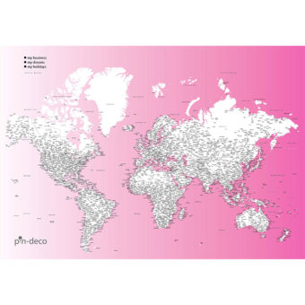 světle fialovo bílá vybarvovací mapa světa